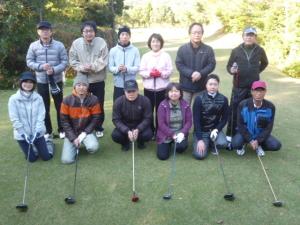 2015年11月28日ゴルフコンペ集合写真1